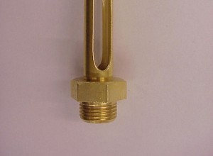 Oil level gauge with locknut FGV